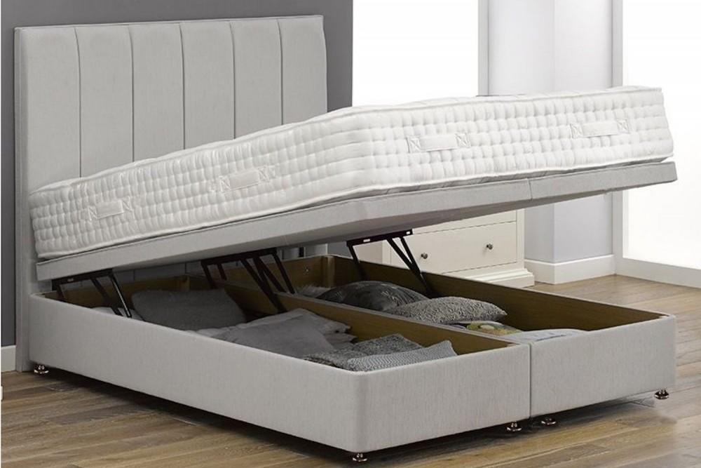 gas storage bed. Black Bedroom Furniture Sets. Home Design Ideas