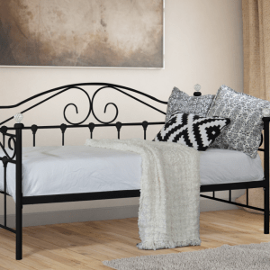Aimee Day Bed - BLACK-0