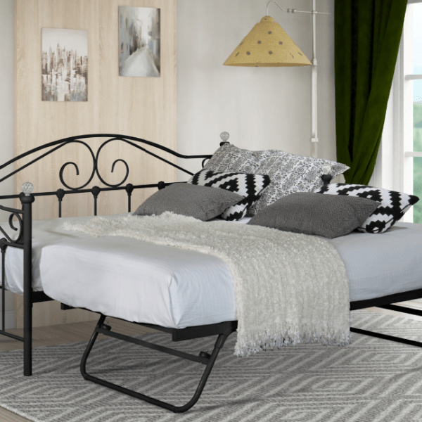 Aimee Day Bed – BLACK-1715