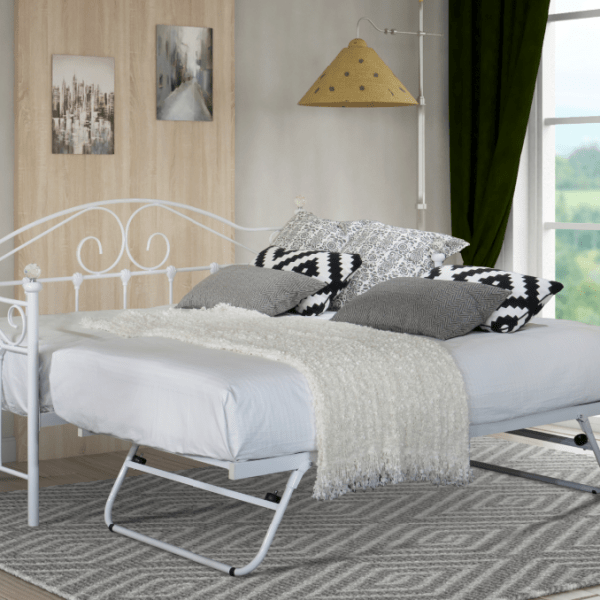 Aimee Day Bed – WHITE-1717