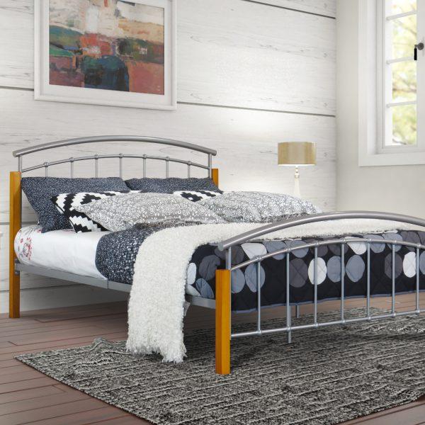 Logan Metal Bed-0