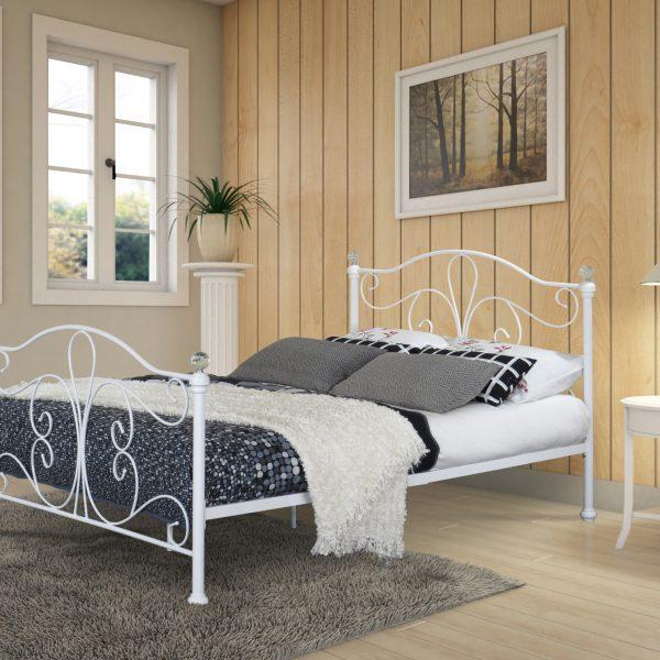 Maureen Classic Metal Bed-0