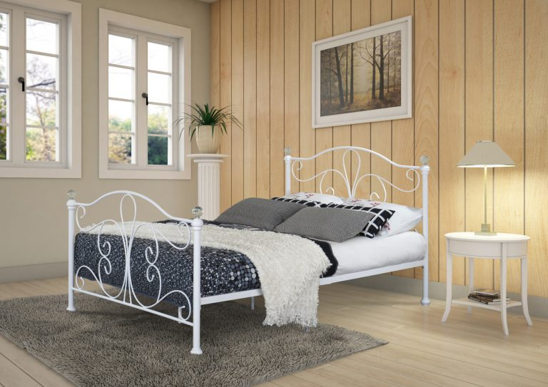 Maureen Classic Metal Bed-0