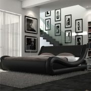 Volo Italian Modern Leather Bed