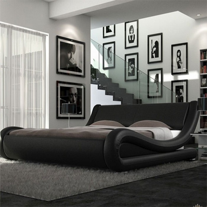 Volo Italian Modern Leather Bed Luxury Leather Beds Beds Co Uk The Bed Outlet