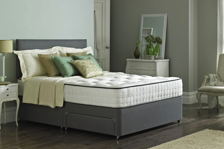 Kensington Divan Designer Fabric Bed Luxury Fabric Beds