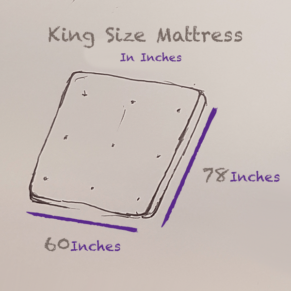 King-size-mattress-size-inches