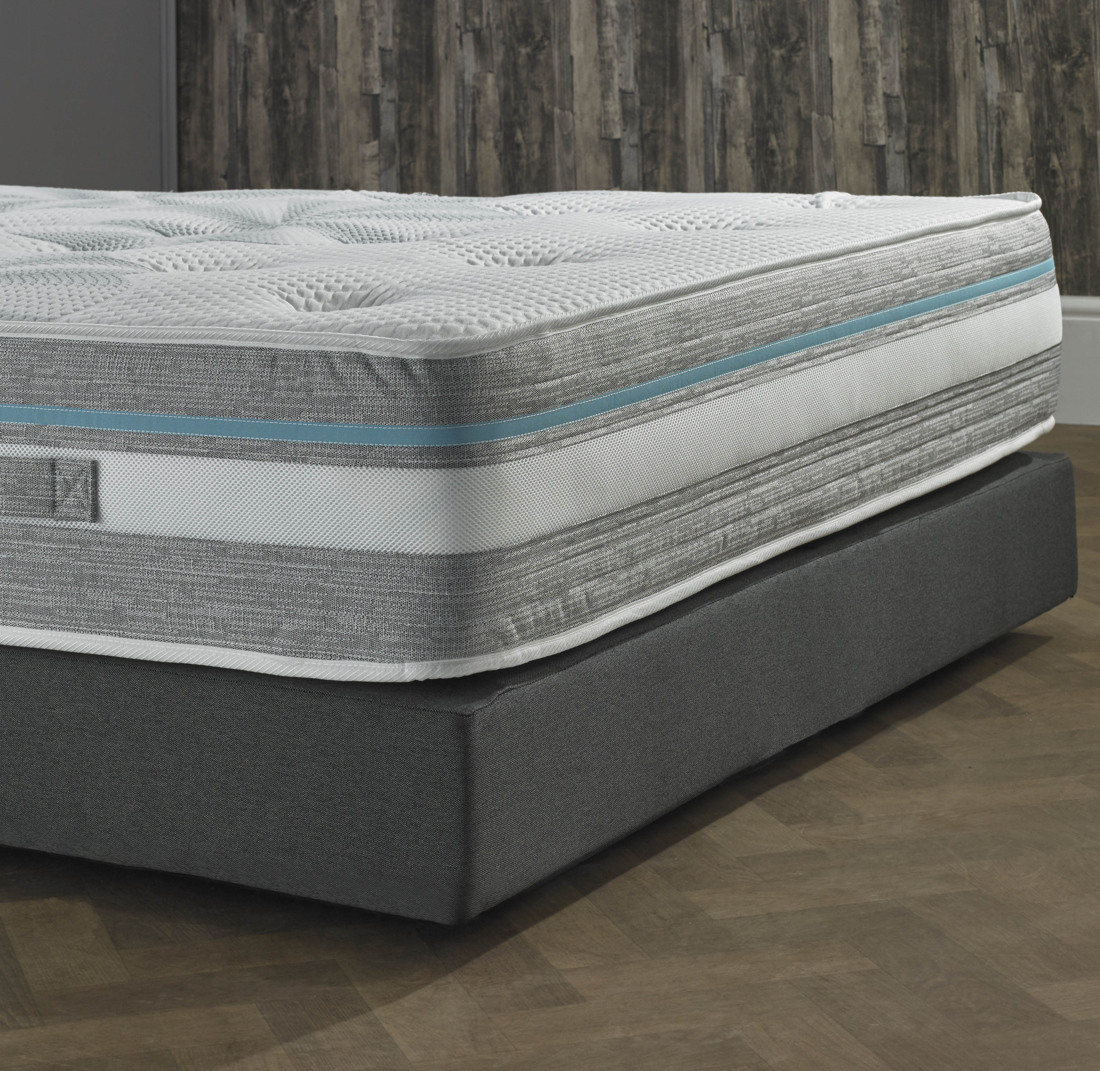 Beds Co Uk Premium Hybrid Individual Encapsulated Geltech Pocket Spring Mattress Beds Co Uk